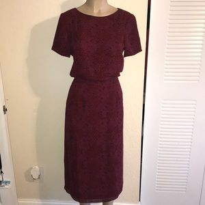 Talbots 2 Piece Set {Blouse and Skirt}